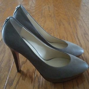 Coach Grey Pump Heels